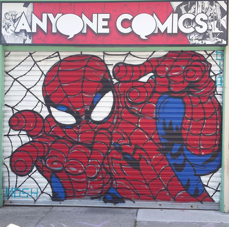 Anyone Comics storefront